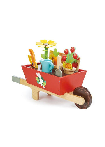 Garden Wheelbarrow Set Toy Tender Leaf Toys