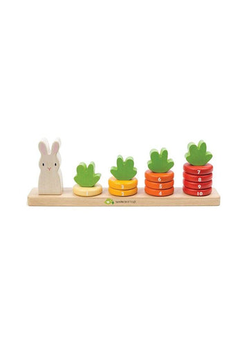 Counting Carrots Toy Tender Leaf Toys