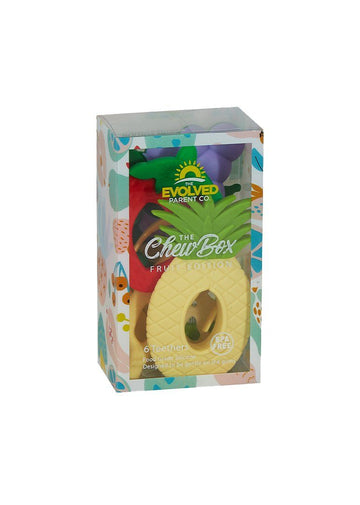 The ChewBox - Fruit Edition Toy The Evolved Parent Co