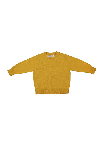 Waverly Cotton Crew - Yellow Top Giggle