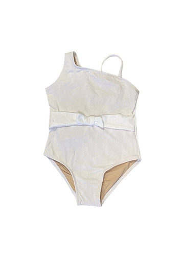 White Pineapple One Piece Swim Shade Critters