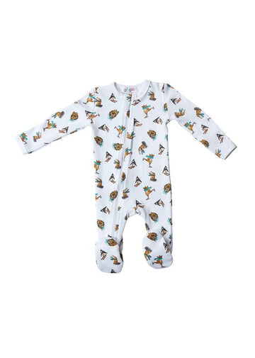Winter Animals Footie Onesie Giggle
