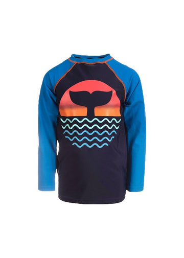 Long Sleeve Rash Guard - Ocean View Swim Appaman