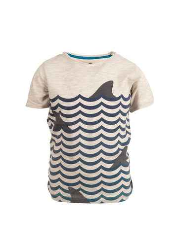 Graphic Short Sleeve Tee - Suns Out Fins Out Top Appaman