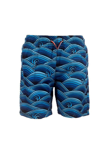 Mid Length Swim Trunks - Wave Pool Swim Appaman