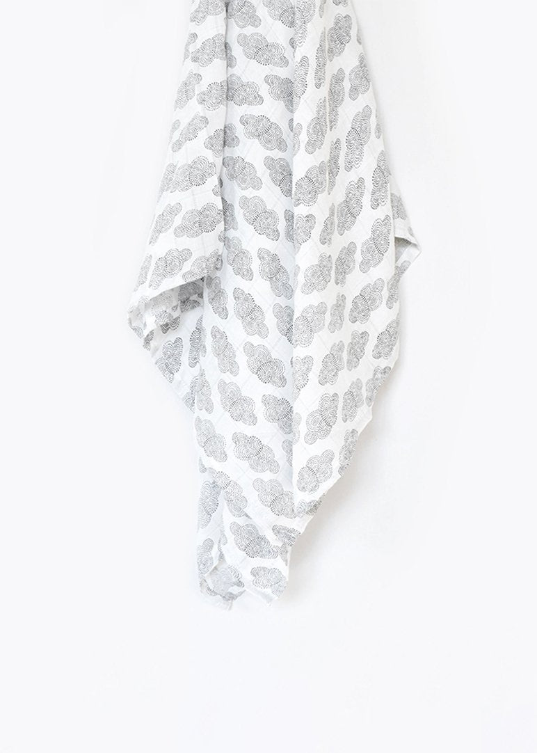 Organic Muslin Swaddle - Cloud Toy Wee Gallery