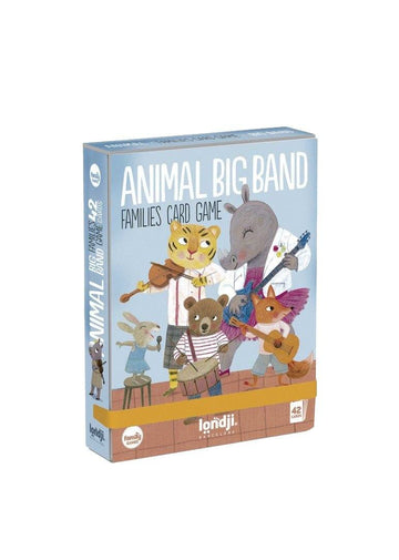 Animals Big Band - Family Card Game Toy Londji