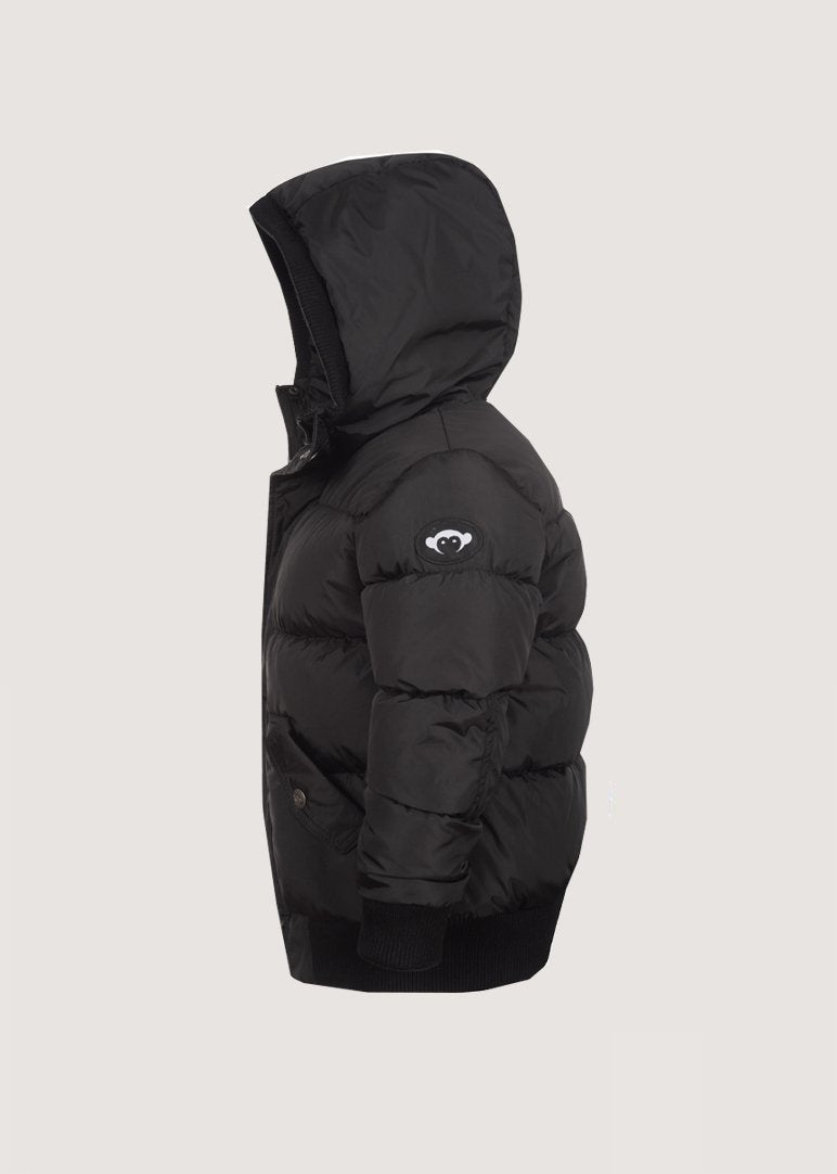 Black Puffy Coat Outerwear Appaman