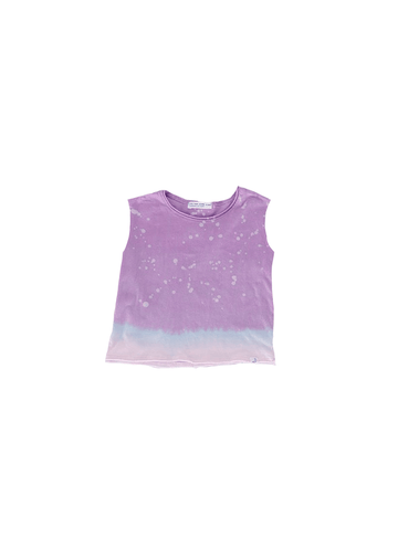 Barrett Lilac Splatter Boxy Tank top Little Moon Society