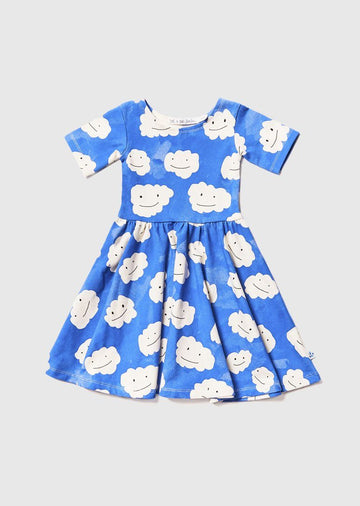 Blue Cloud Ballerina Dress dress Noe and Zoe