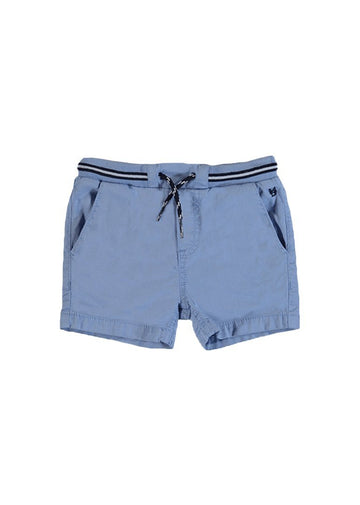 Twill Pull On Bermuda Shorts - Light Blue Shorts Mayoral