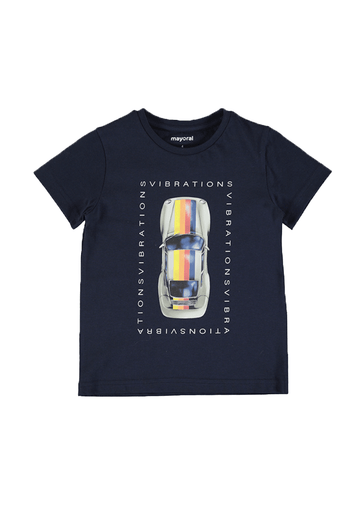 Car Short Sleeve T-Shirt Top Mayoral