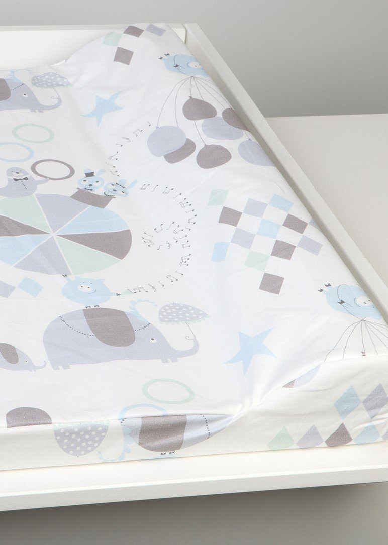circus blue changing pad Nursery Ng Baby