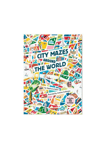 City Mazes Around the World Books Chronicle Books