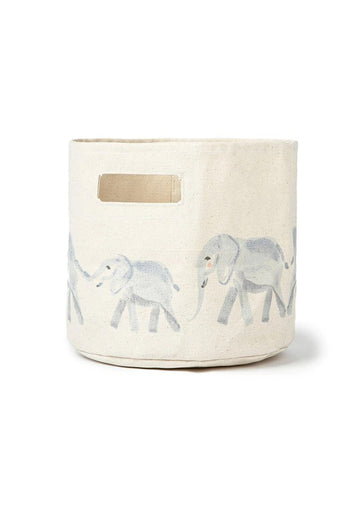 Printed Storage Pint - Elephant Decor Pehr