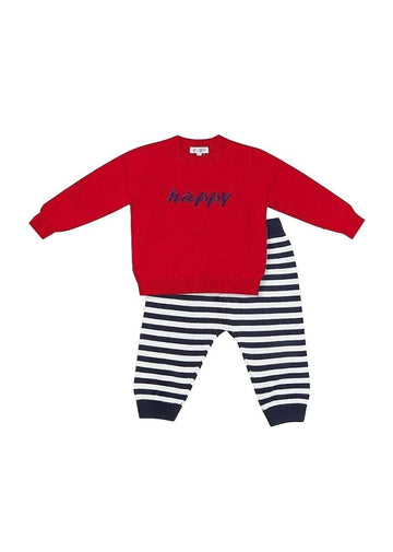 Parker Cotton Play Sets - Red Set Giggle