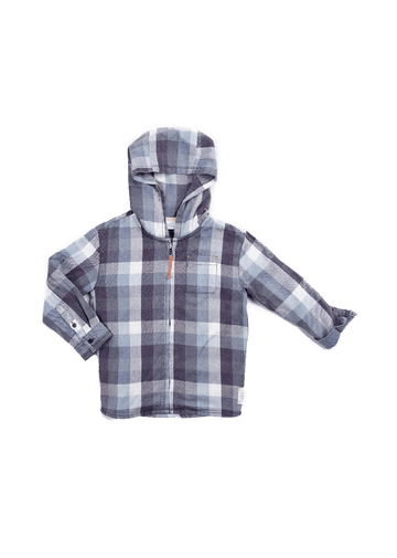 Emmett Flannel Jacket Outerwear Egg by Susan Lazar