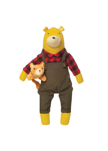 Lemon the Bear + Kitty Toy Manhattan Toy