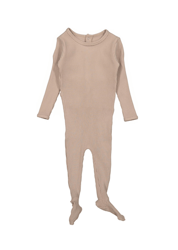 The Ribbed Romper - Blush Layette Lovely Littles