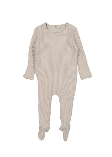 The Ribbed Romper - Mauve Layette Lovely Littles
