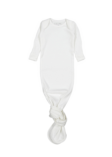 The Cotton Baby Gown - White Layette Lovely Littles