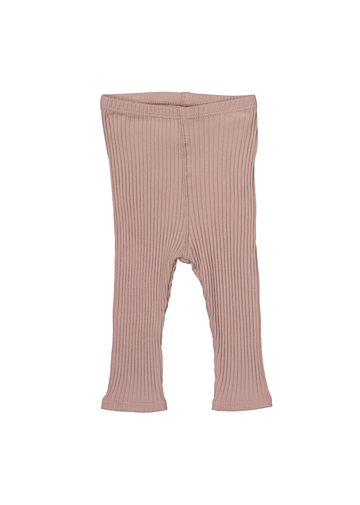 The Ribbed Legging - Mauve Layette Lovely Littles