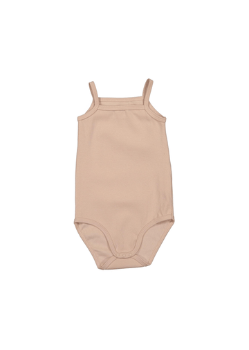 The Cotton Tank Onesie - Blush Layette Lovely Littles