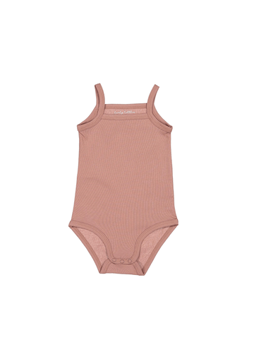 The Cotton Tank Onesie - Rosewood Layette Lovely Littles