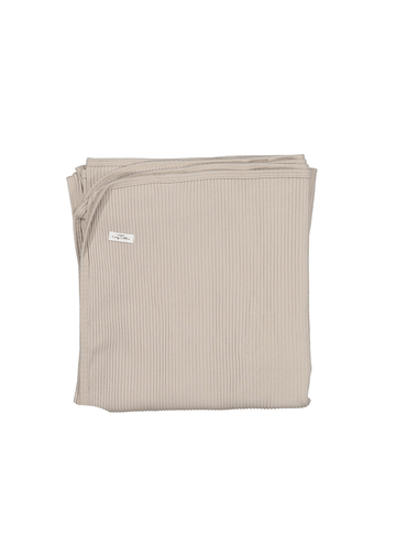 The Ribbed Blanket - Sand Layette Lovely Littles