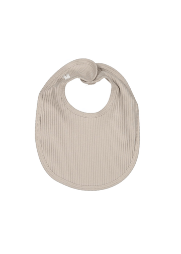 The Ribbed Bib - Sand Layette Lovely Littles