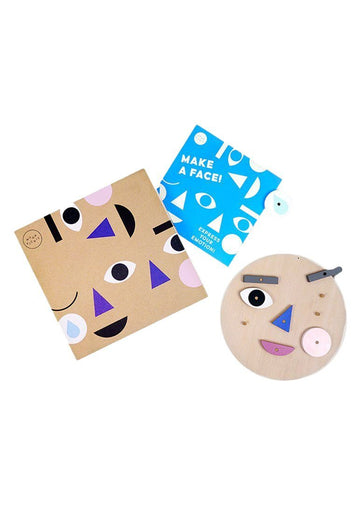 Make a Face Play Set Toy Moon Picnic