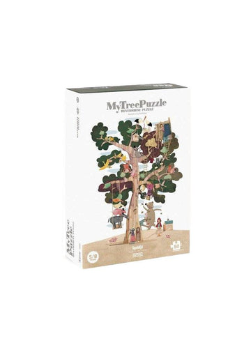 My Tree Puzzle 50 pcs - Shape & Reversible Toy Londji