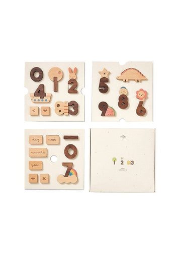 Numbers Play Block Set Toy Oioiooi