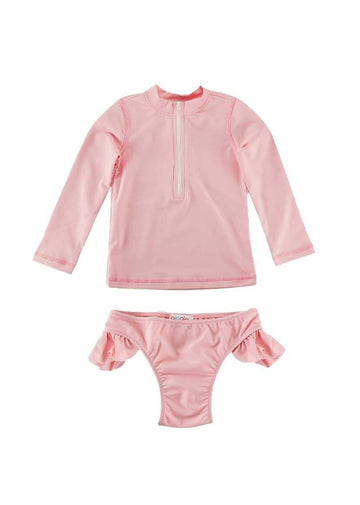 Brinley Girls Swim Set - Pink Swim Giggle