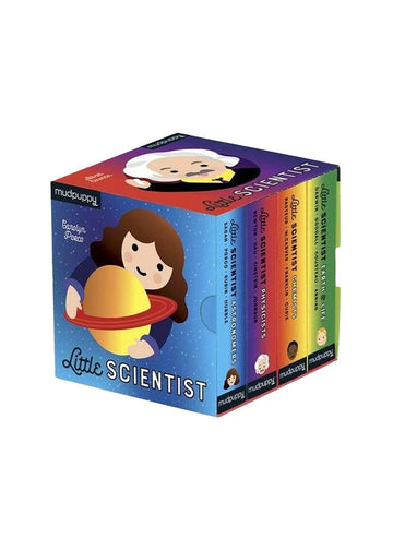 little scientist board book set Book Chronicle Books