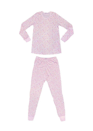 Mommy Sprinkle of Hearts Pajamas Mom Giggle