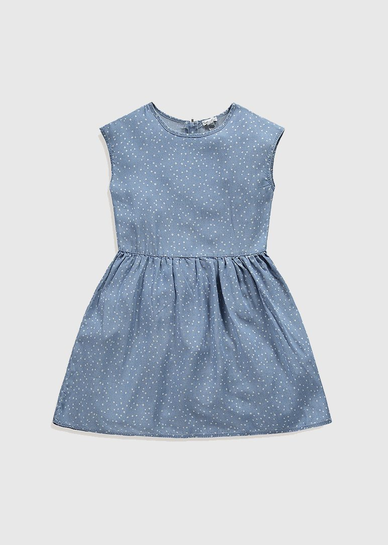 Chambray Dot Dress dress Splendid