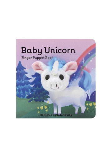 baby unicorn: finger puppet book Book Chronicle Books