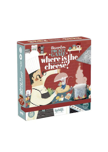 Where is the Cheese? - Family Game Toy Londji