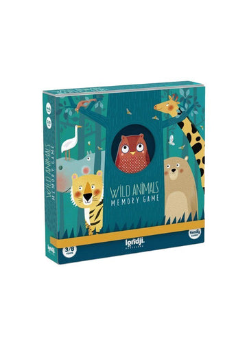 Wild Animals - Memory Game Toy Londji