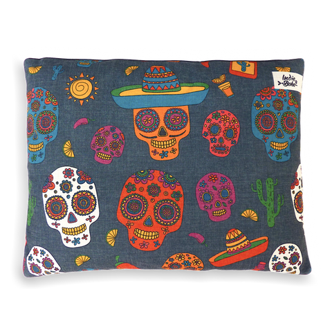 Mexican Skulls – MEDIUM Bed