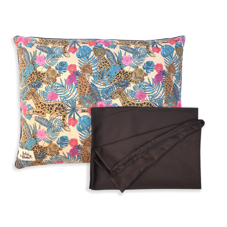 Indie ECO Pet Bed - Leopard Luxe