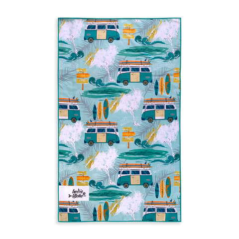Byron Surf Pet Travel Towel