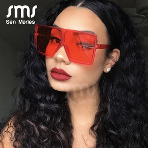 Oversized Square Sunglasses Women New Luxury Brand™
