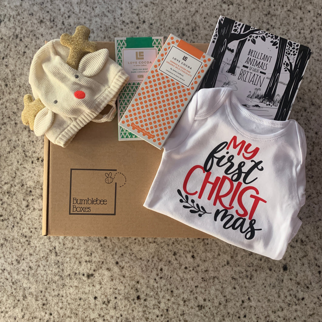 Baby's First Christmas Box