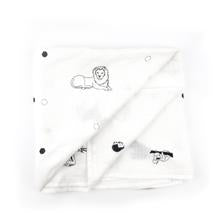 Monochrome Animal Swaddle
