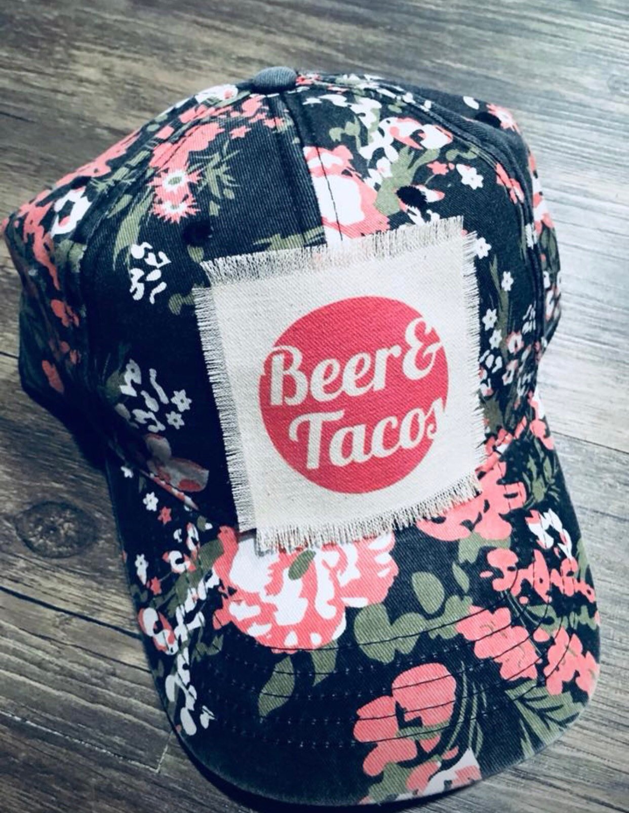 7a61a2bd1 beer and tacos,i love tacos,baseball cap for her,gift for mom,summer vacay
