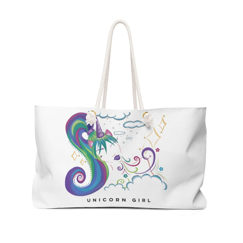 Unicorn Girl Weekender Bag