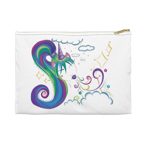 Unicorn Girl Accessory Pouch