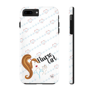 Nurse Girl iPhone Tough Phone Cases